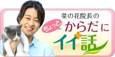 ブログ『菜の花院長のちょっとからだにイイ話』